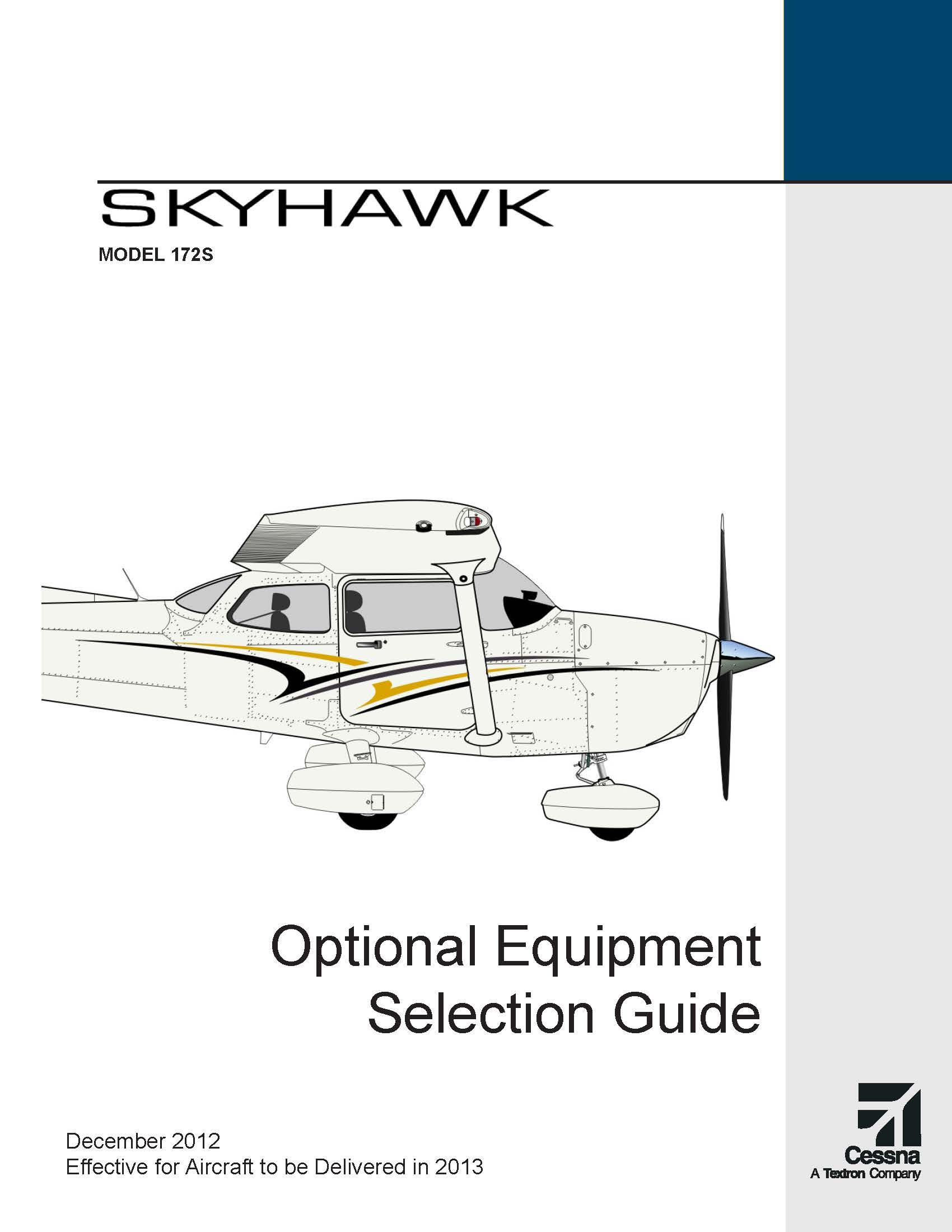 Cessna Skyhawk optional equipment guide