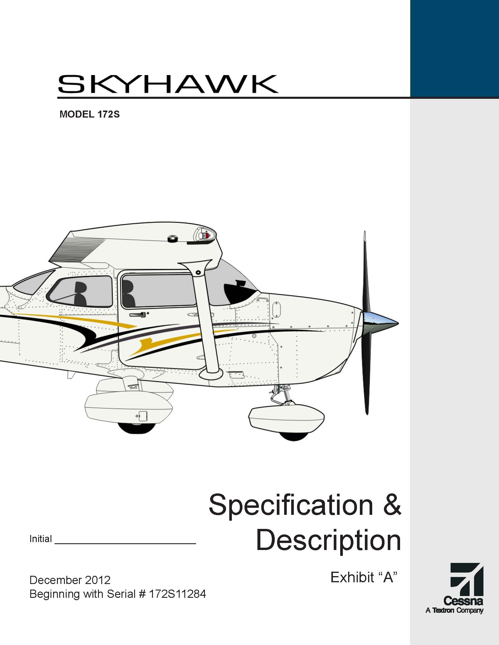 Cessna Skyhawk specs and description