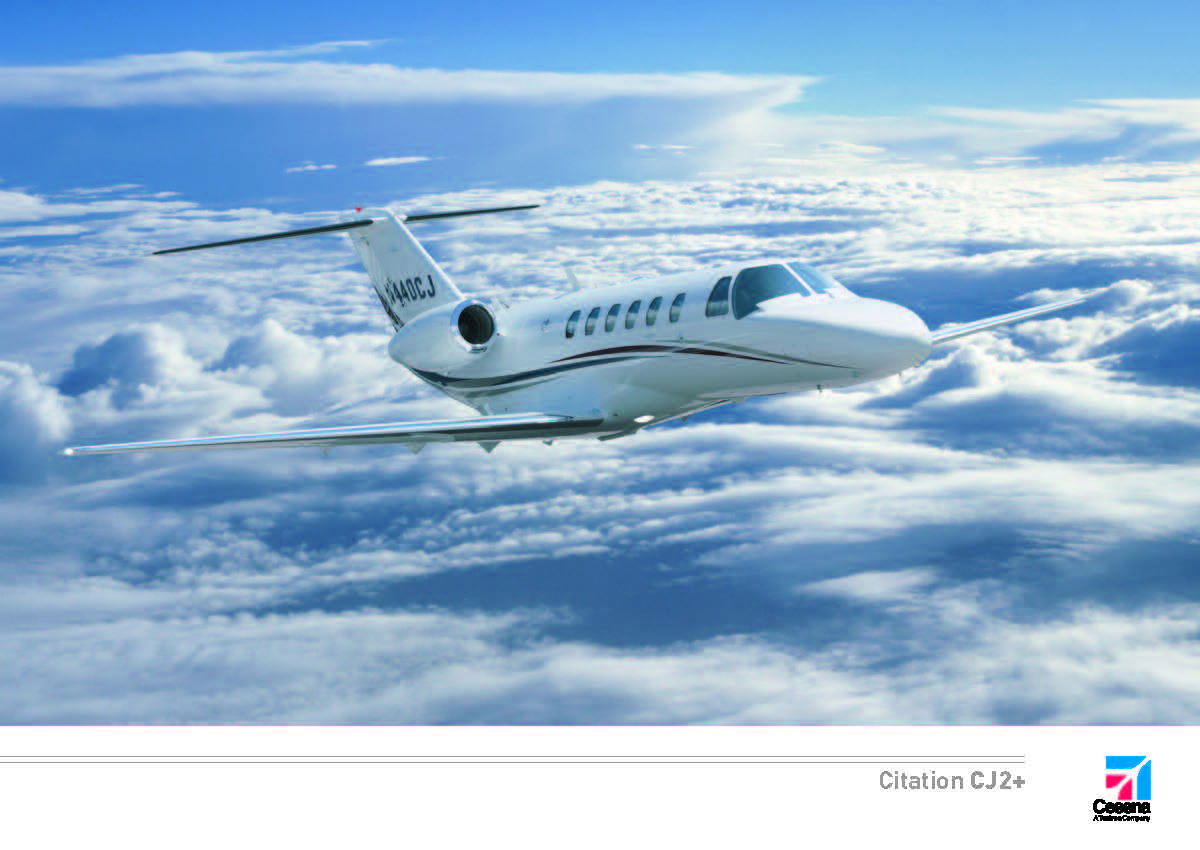 Citation CJ2+ electronic brochure