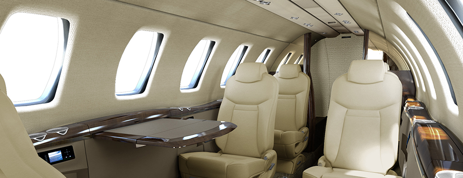 Citation cj4 Carnegie Interior collection