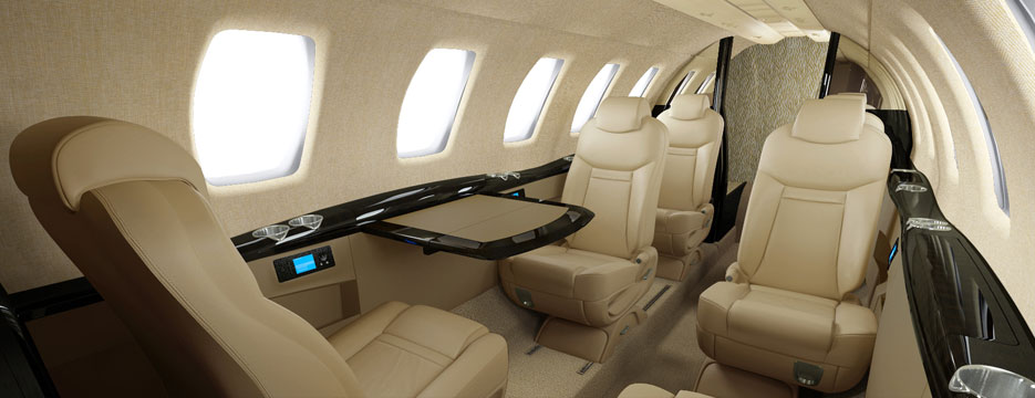 Citation cj4 Heritage Interior Collection