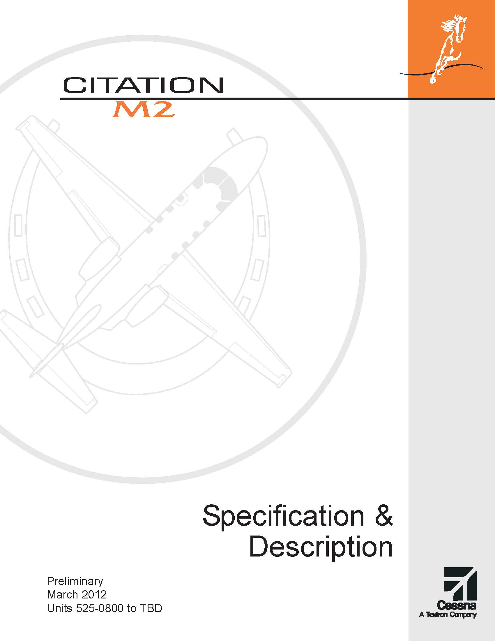 Citation M2 spec and description electronic brochure