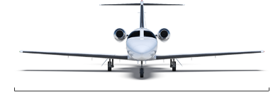 Citation Mustang overall width