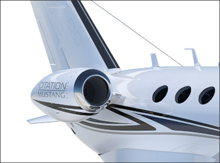 Citation Mustang powerplant
