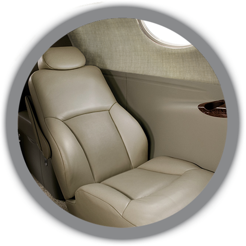 Citation Mustang cabin design