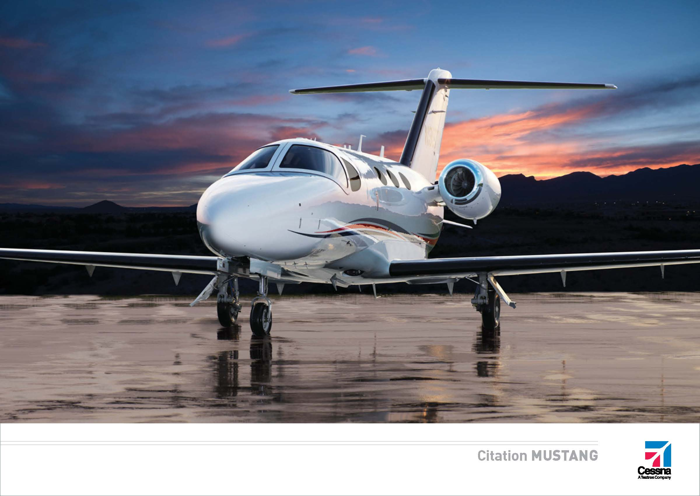 Citation Mustang electronic brochure