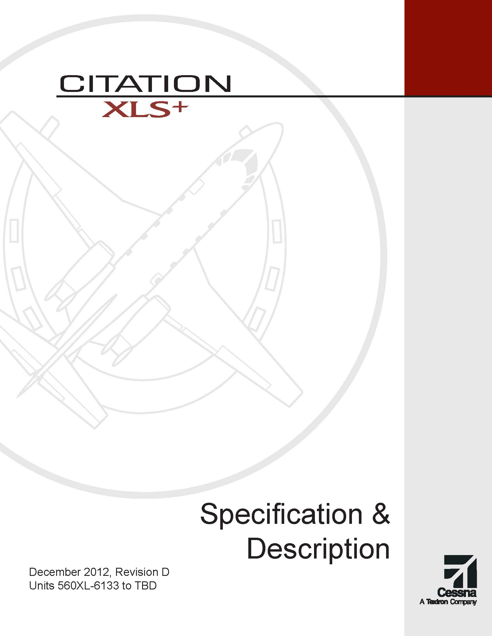 Citation XLS+ spec and description electronic brochure