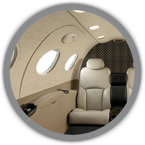 Citation Mustang cabin