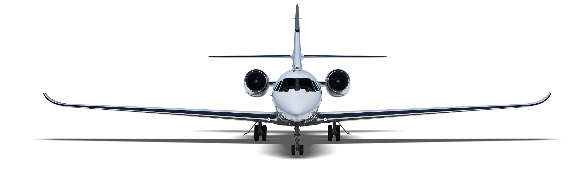 Cessna Citation X Business Jet 3D Model Obj 3ds Fbx Lwo Lw Lws